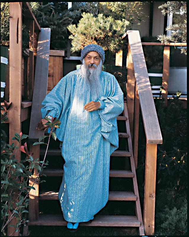 Rajneeshpuram cult founder Bhagwan Shree Rajneesh | Via oshoworld.com
