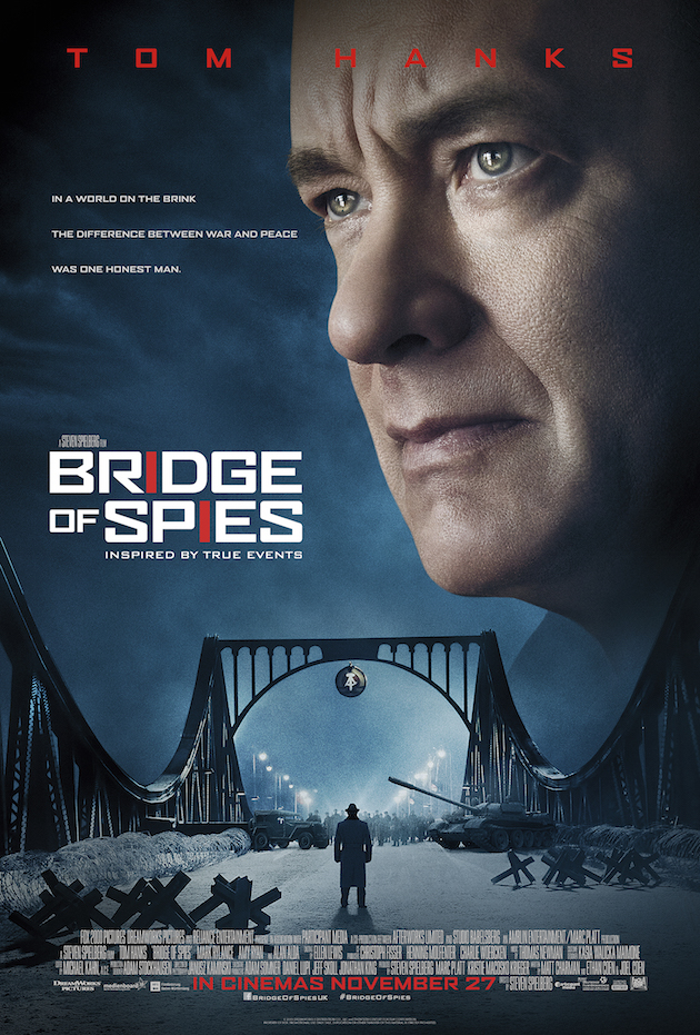 Bridge of Spies. Image Courtesy of recentmovieposters.com.