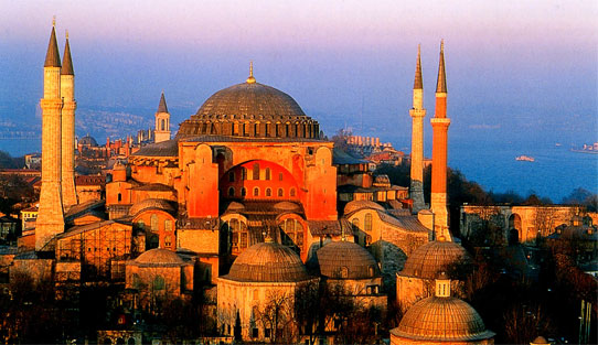 Exterior Hagia Sophia, Turkey. Image Courtesy of teslasociety.com.