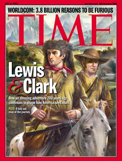 Lewis and Clark Time Cover. Via content.time.com.