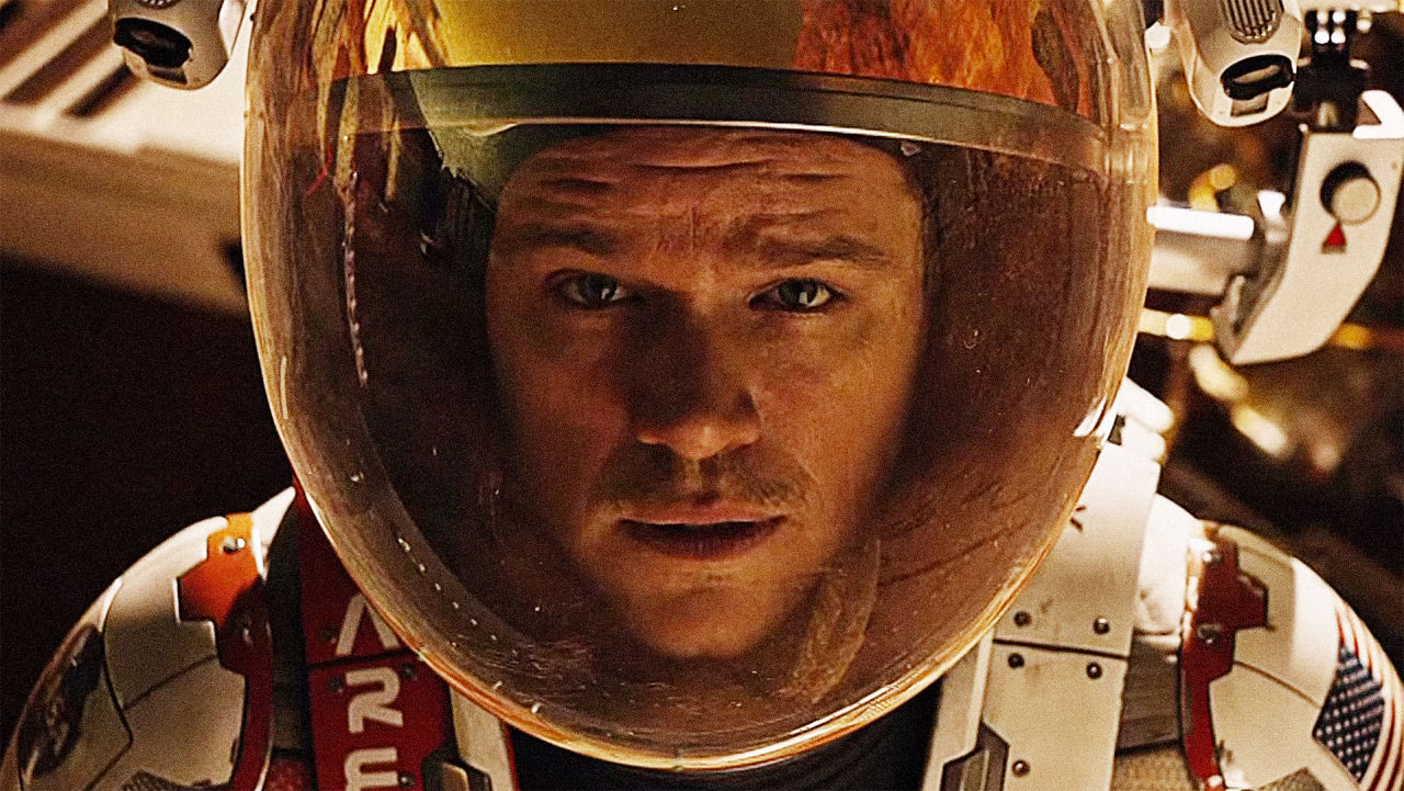 Matt Damon The Martian. Image Courtesy of fastcocreate.com.