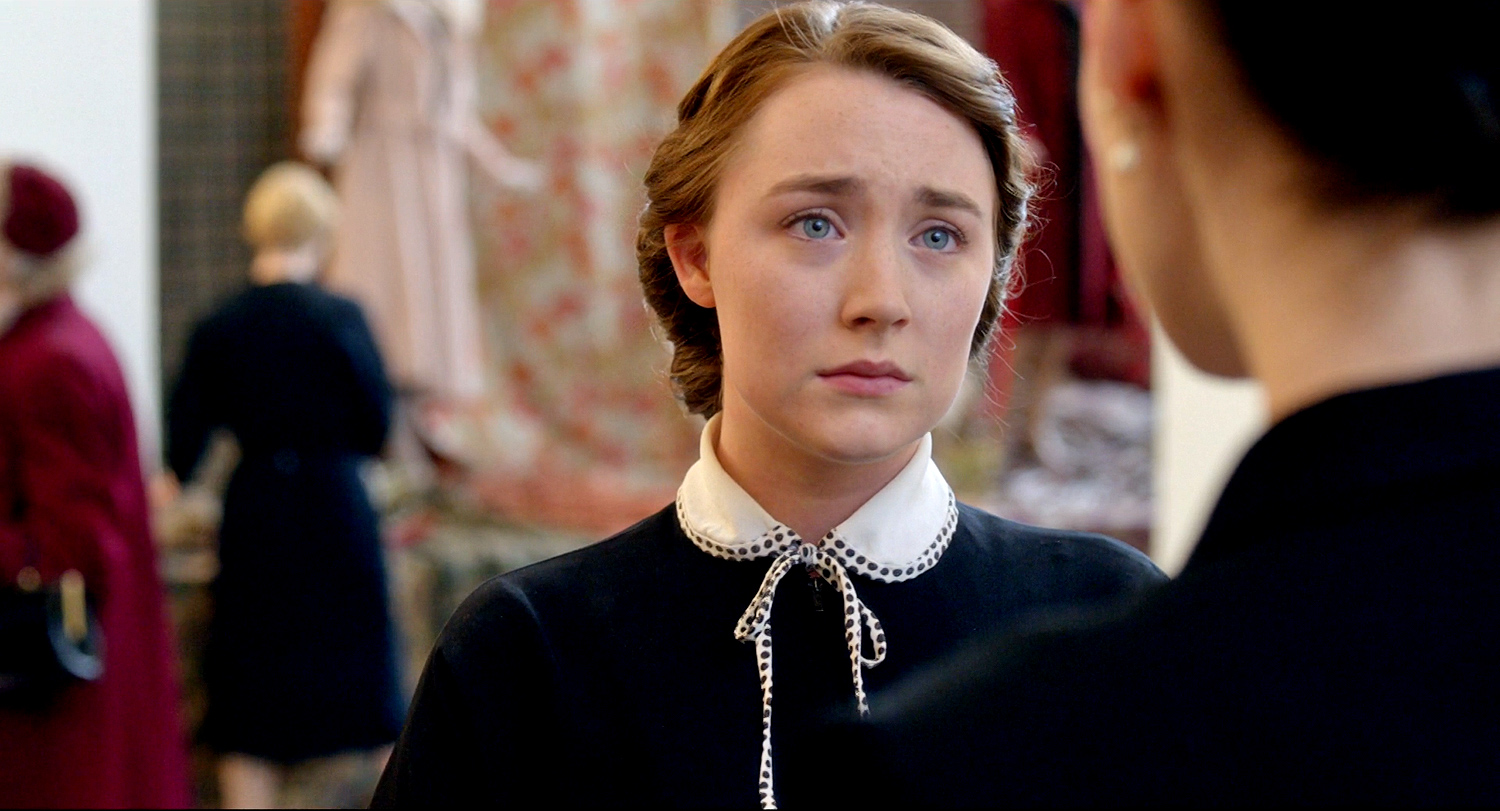 Saoirse Ronan Brooklyn. Image Courtesy of ew.com.