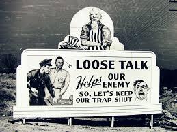 Secrecy Sign. Via atomicheritage.org.