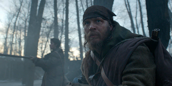 Tom Hardy The Revenant. Image Courtesy of cinemablend.com.