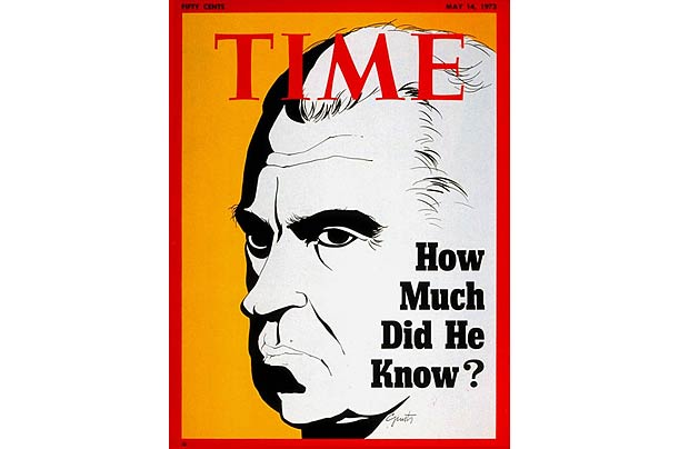 Watergate Time Cover. Via content.time.com.